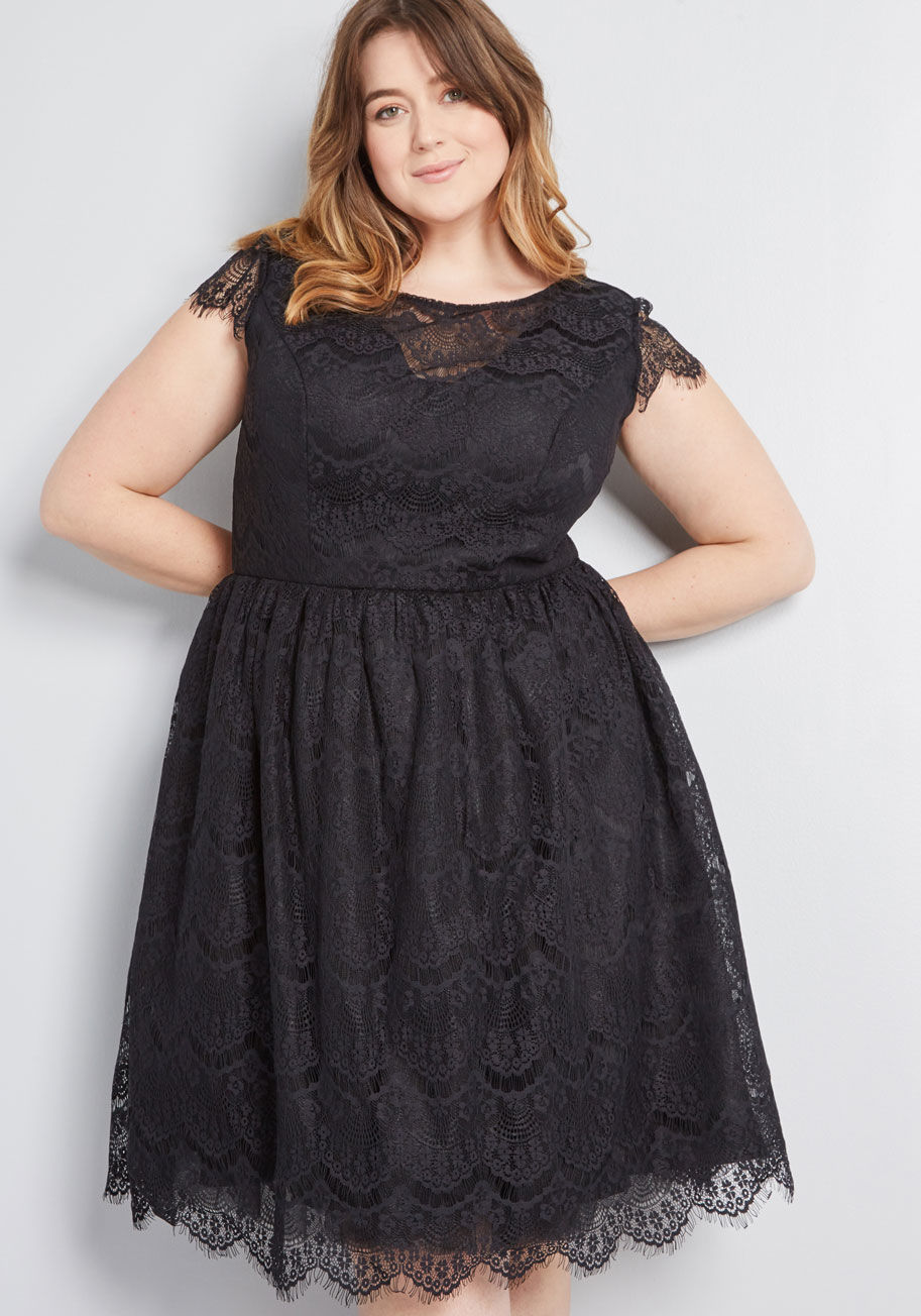 Chi Chi London Endless Luxe Fit and Flare Dress