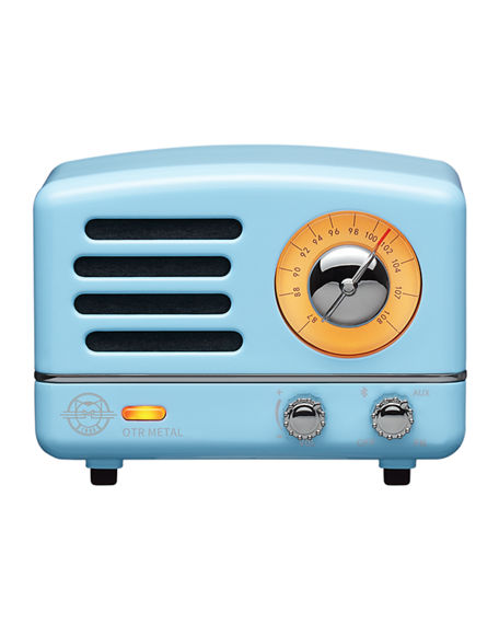 MUZEN Rosewood Wireless Desk Radio