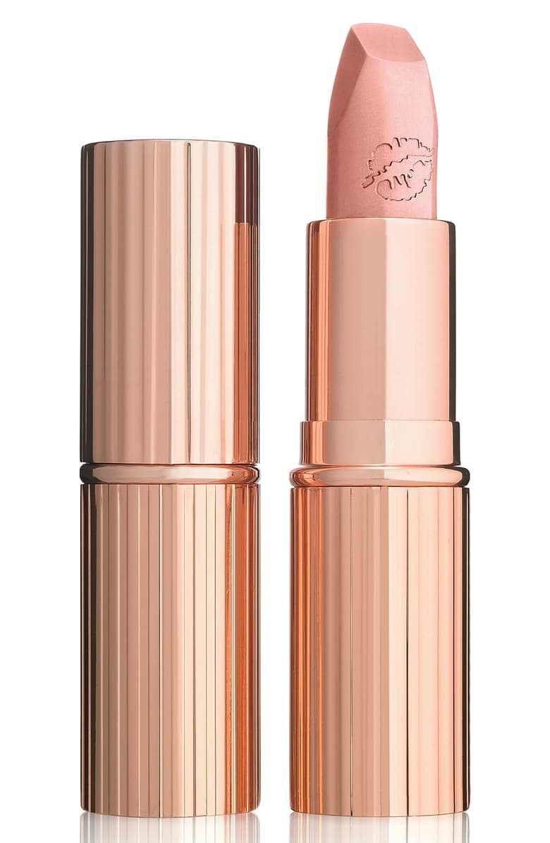 "Charlotte Tilbury Hot Lips ""Kim K.W."" Nude Lipstick"