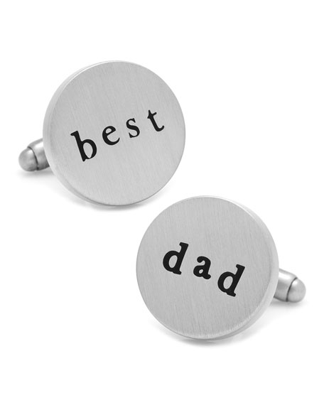 Cufflinks Inc. Best Dad Cufflinks