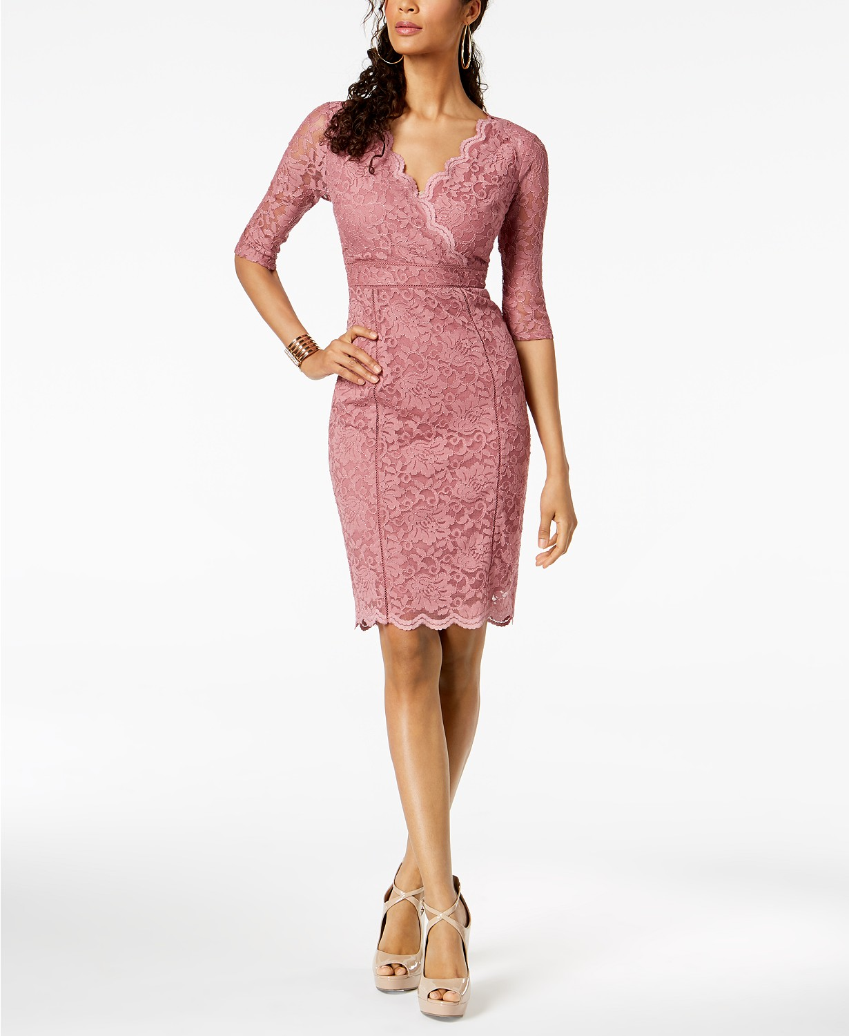 Thalia Sodi Lace Sheath Dress