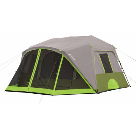Ozark Trail 9-Person 2-Room Instant Cabin Tent with Screen Room