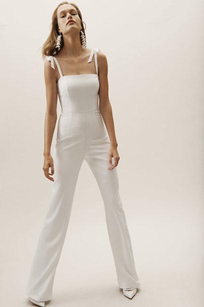 BHLDN White Jumpsuit