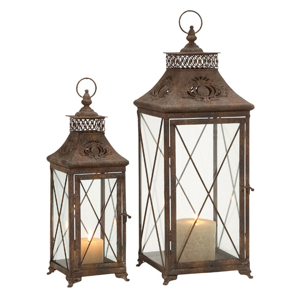 Lantern Candle Holder Set