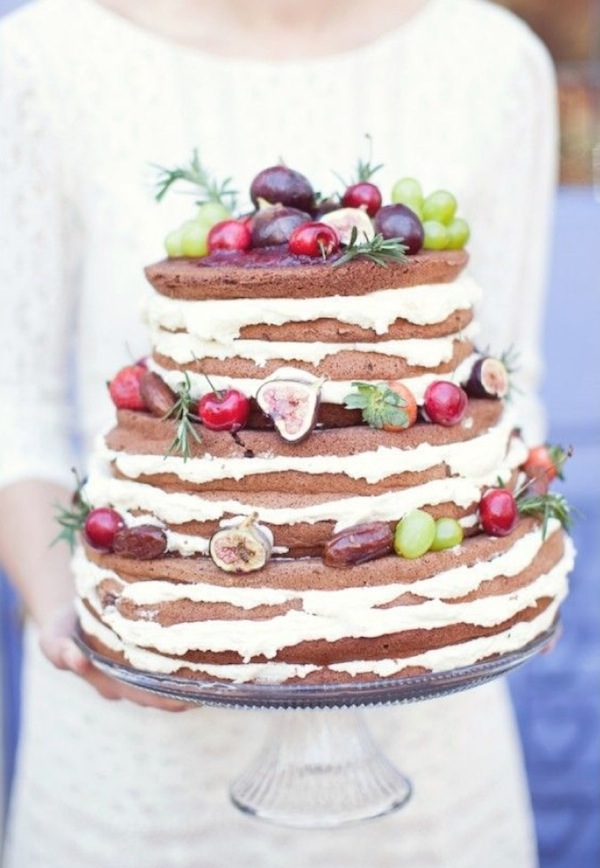 Sweet Fruit Wedding Cake DIY