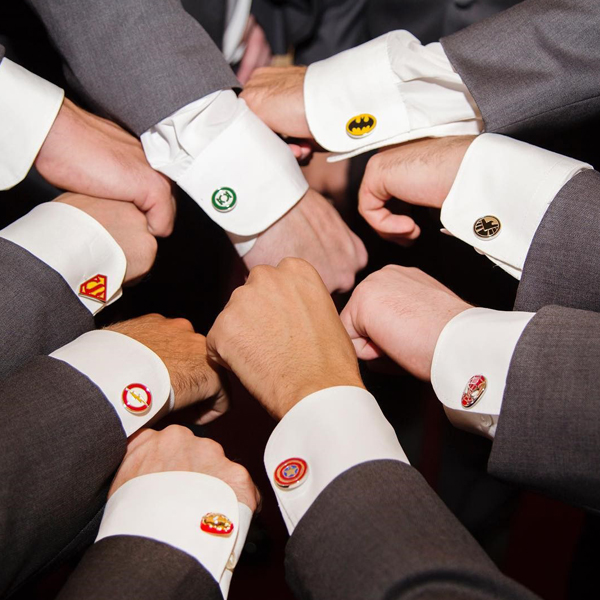 SuperheroWeddingSuperheroAssortedCufflinks