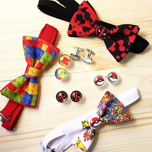 SuperheroWeddingBowties