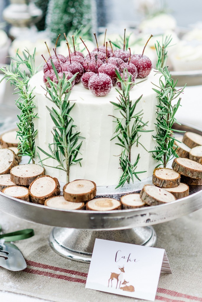 Winter wedding cakes - 5