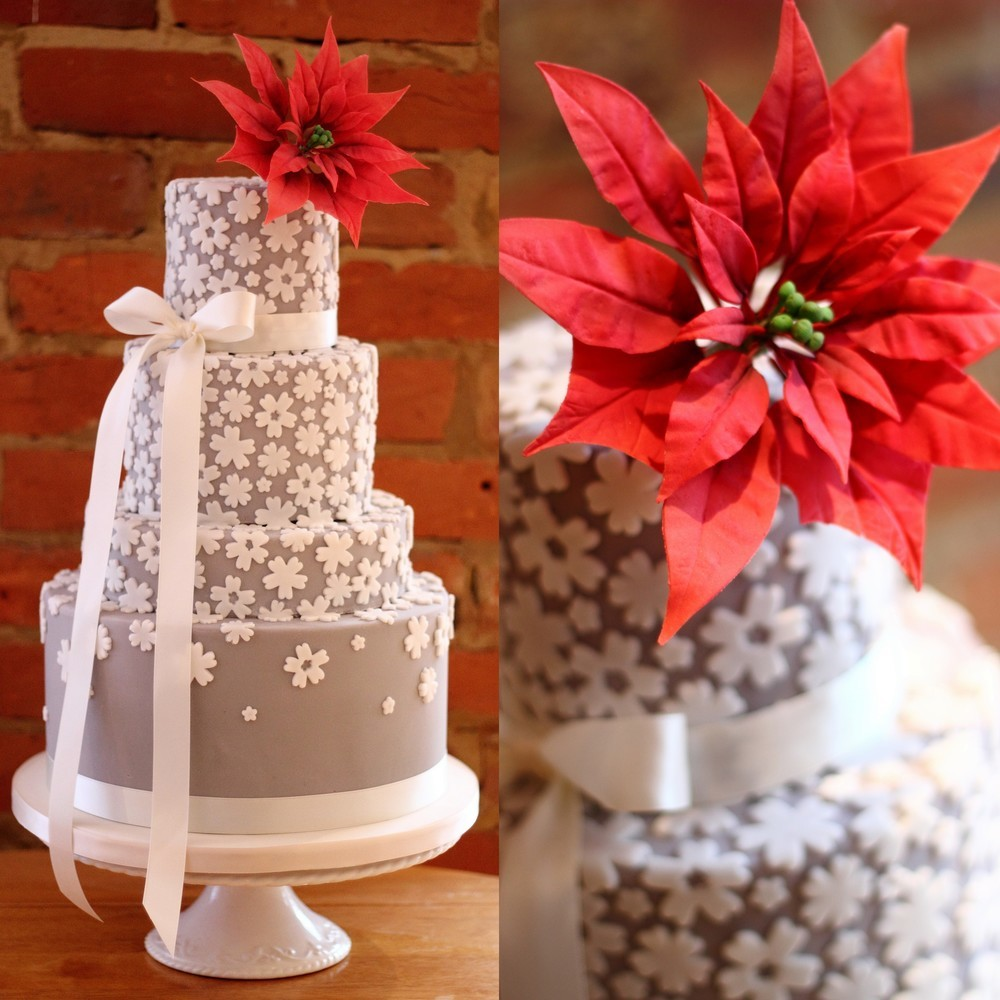 Winter wedding cakes - 7