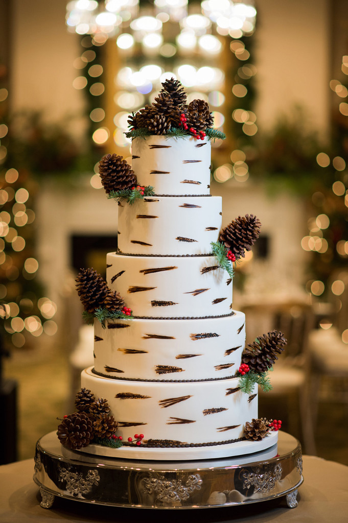 Winter wedding cakes - 8