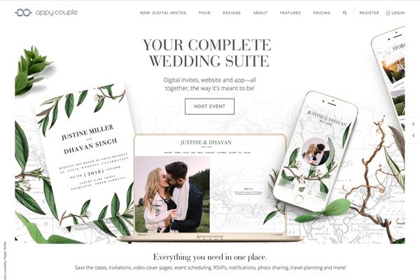 AppyCouple Wedding Website