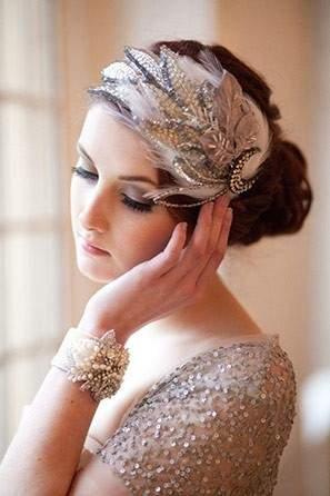 Faux Floral Bridal Headband