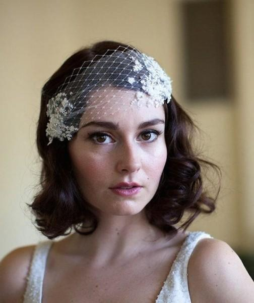 10 Wedding Hairstyles For Short Hair Mywedding