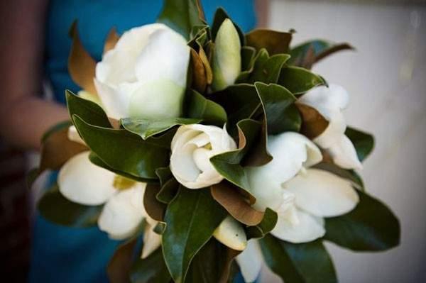 Southern Wedding Flowers Gardenia And Magnolia Details Mywedding