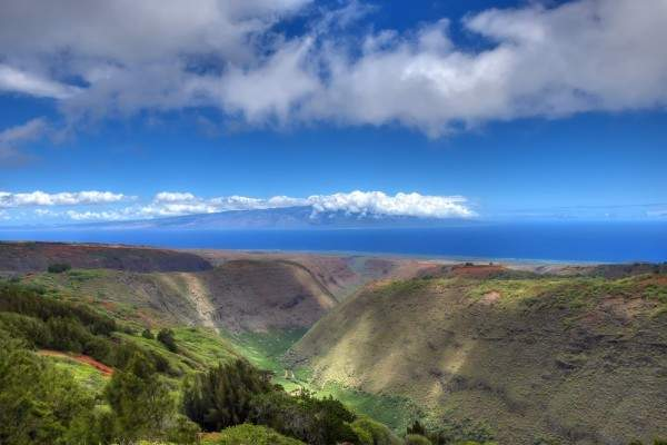 Lanai, Hawaii skyline