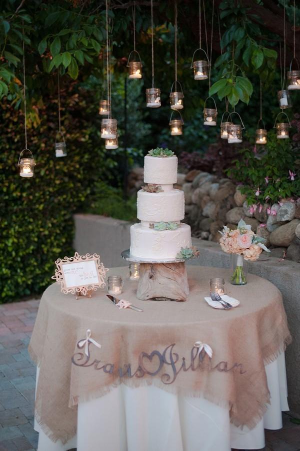 How to Create Your Wedding Cake Table Decor , mywedding