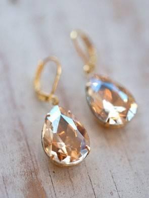 Diamond Vintage Earrings
