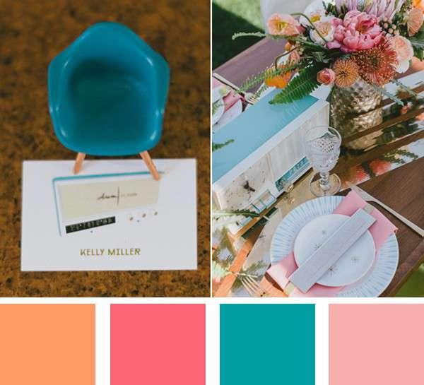 Wedding Color Ideas Summer: 5 Summer Wedding Color Palettes