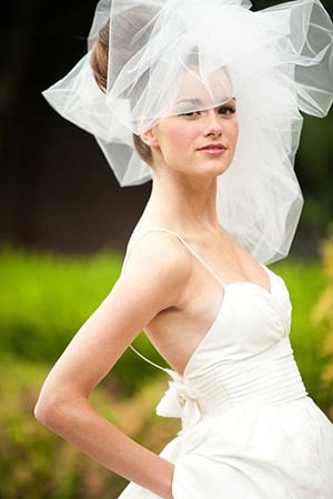 Dramatics Veil Bridal Headpiece