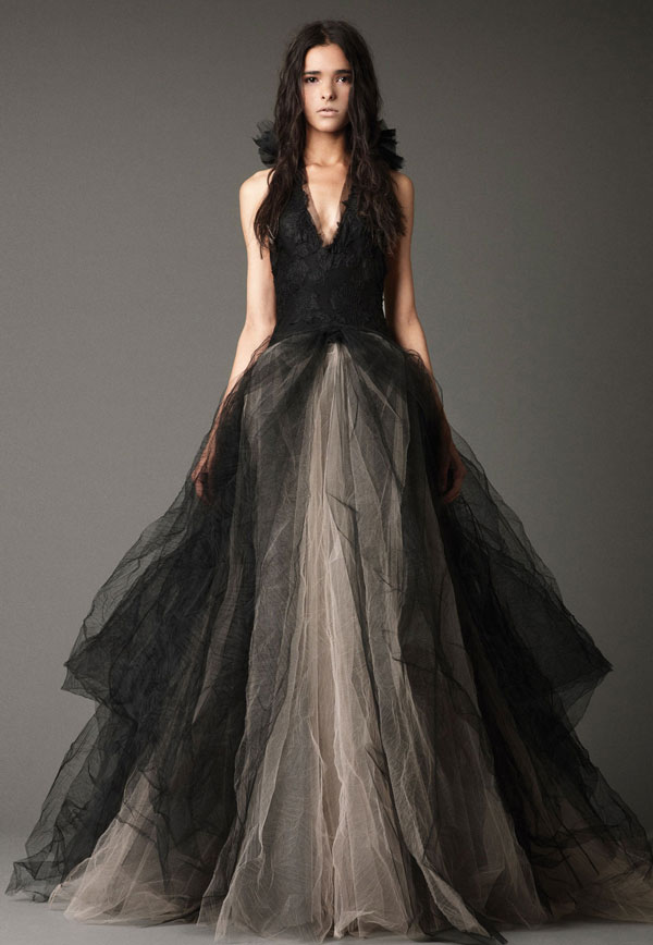 Black And Gray Wedding Dresses Mywedding
