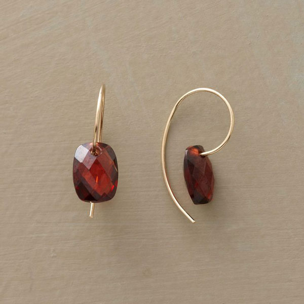 Almandine Garnet Earrings