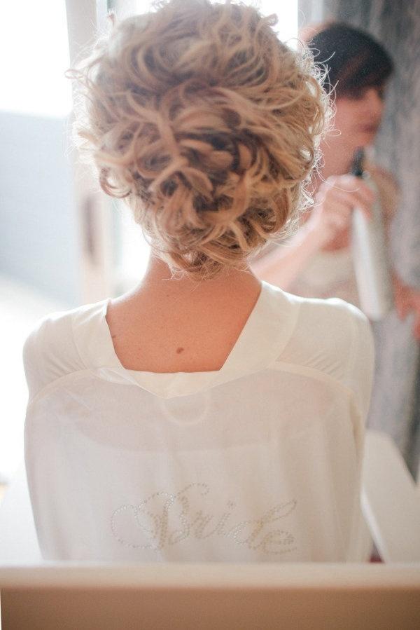 12 Wedding Hairstyles For Curly Hair Mywedding