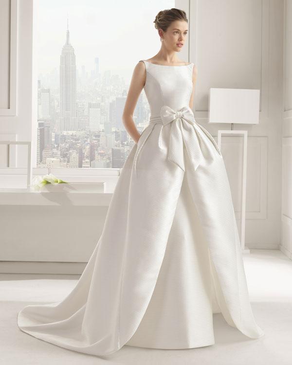 Wedding Dresses With Bows Mywedding