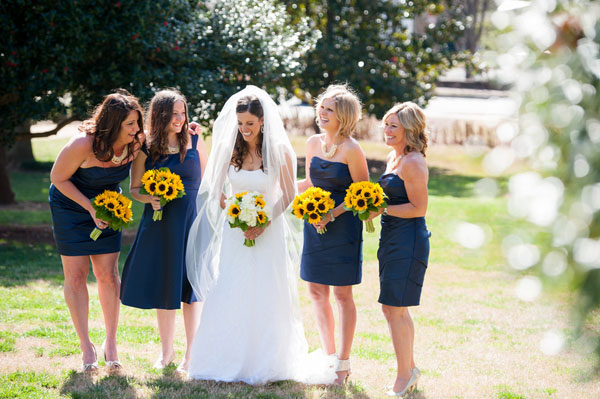 Sunflower Wedding Bouquets Centerpieces Mywedding