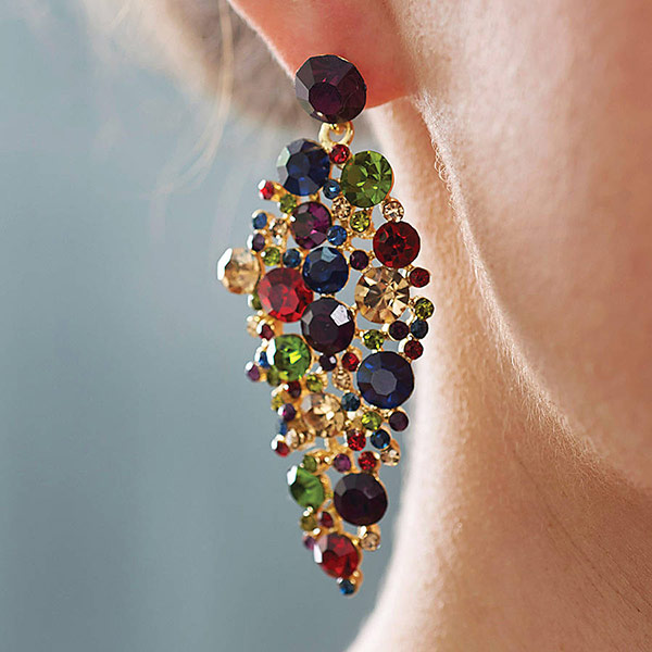 Jeweled Tone Earrings