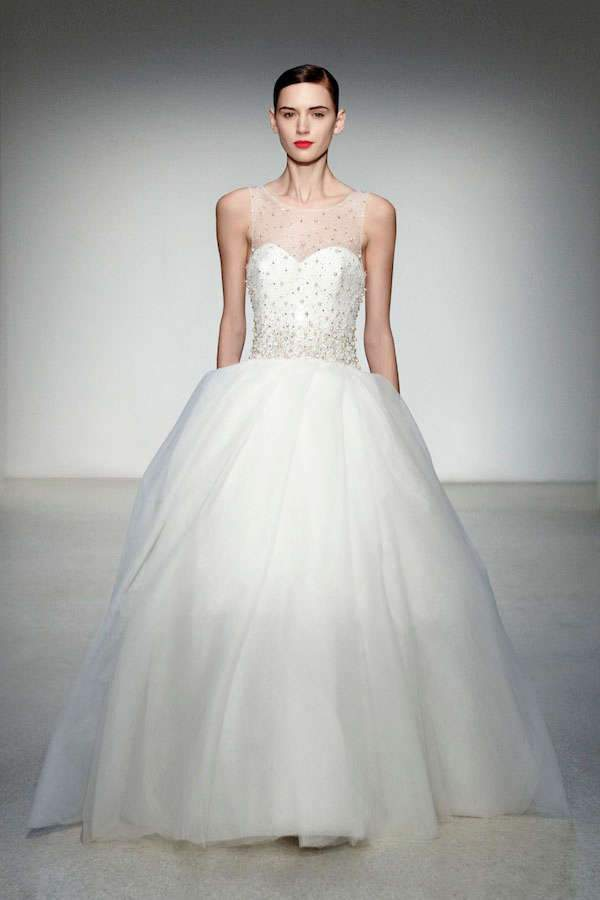 Amsale Gowns Master Simple Sophistication Mywedding
