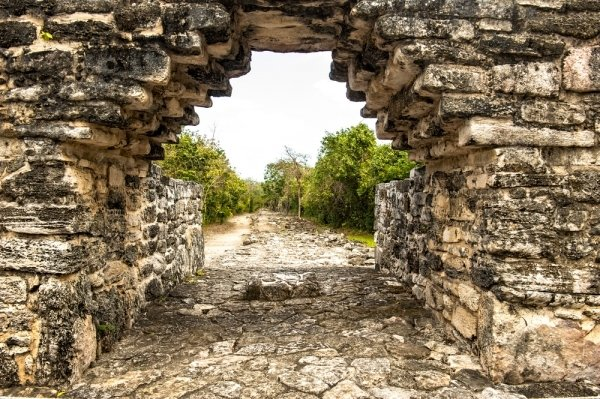 ruins in Cozumel, Mexico