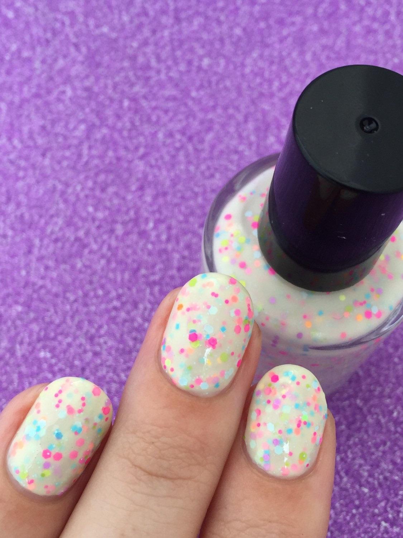 glitter wedding nails 10