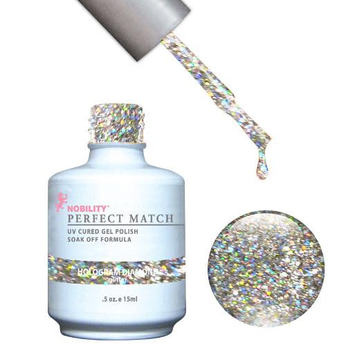 glitter wedding nails 8