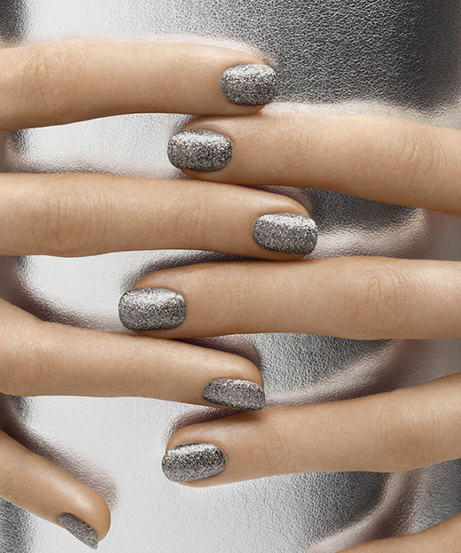 glitter wedding nails 9