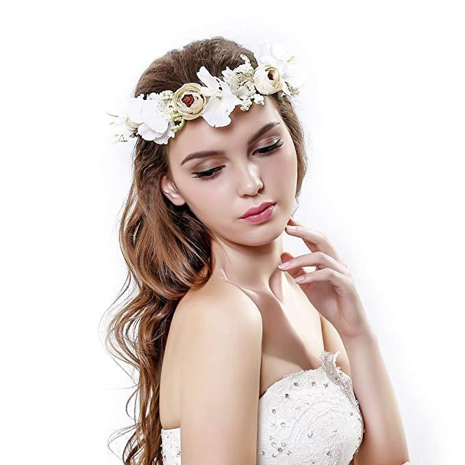 Ever Fairy Handmade Rose Flower Crown