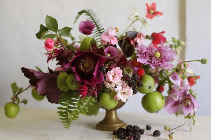 Autumnal Apple Arrangement