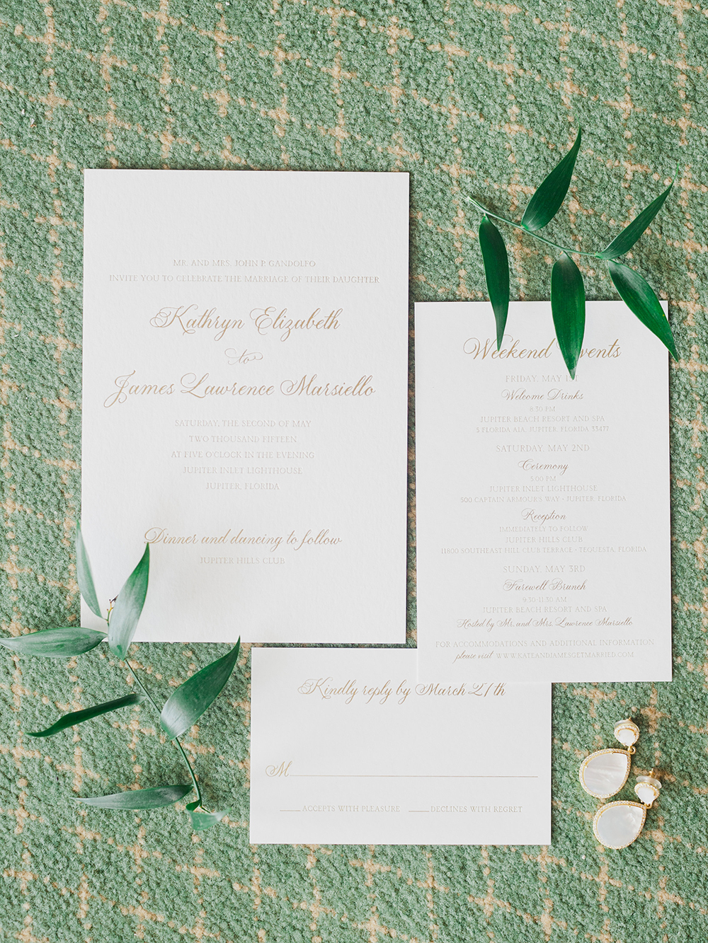 Planning a wedding - wedding stationery