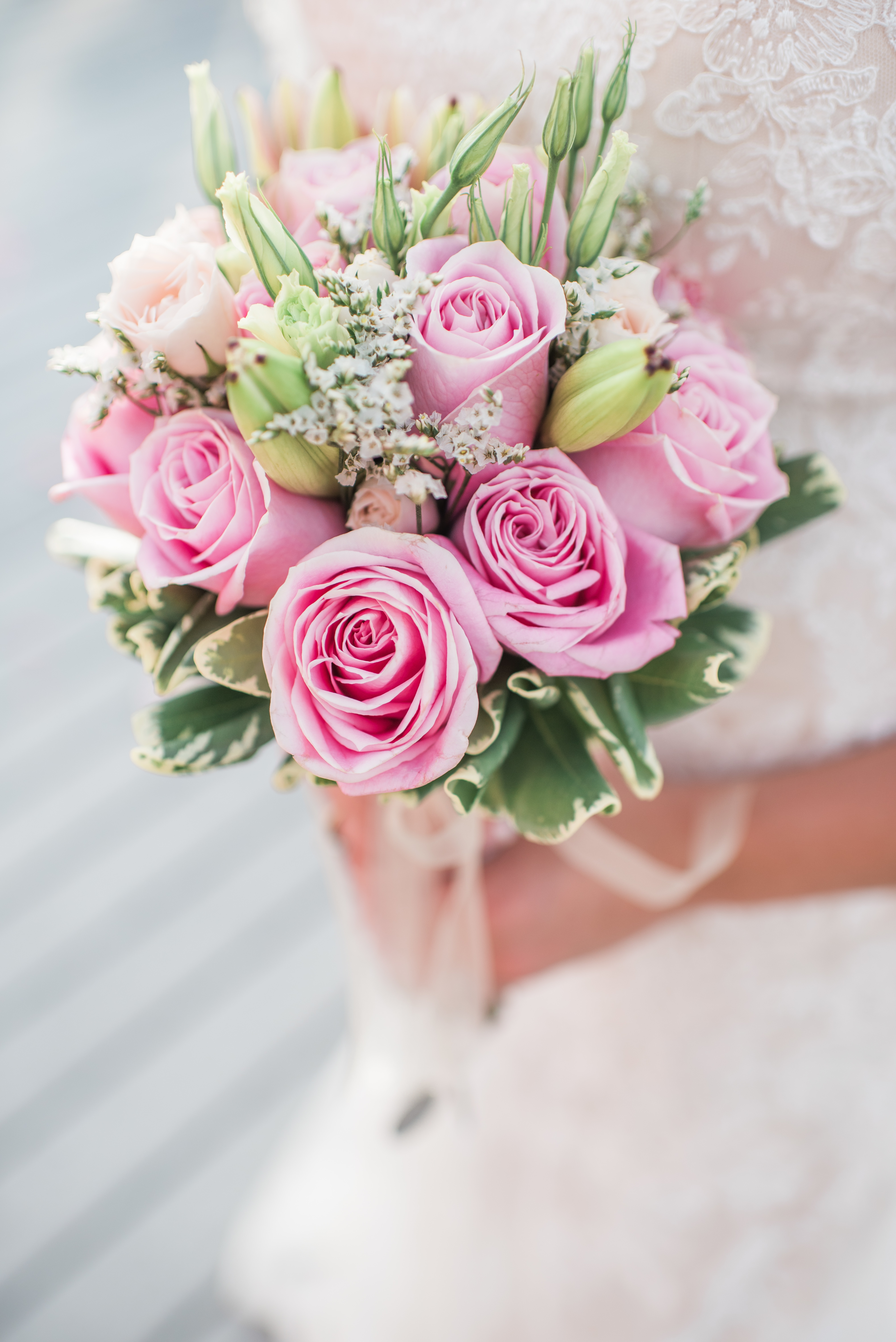 Rose bouquet with soft and sweet style
