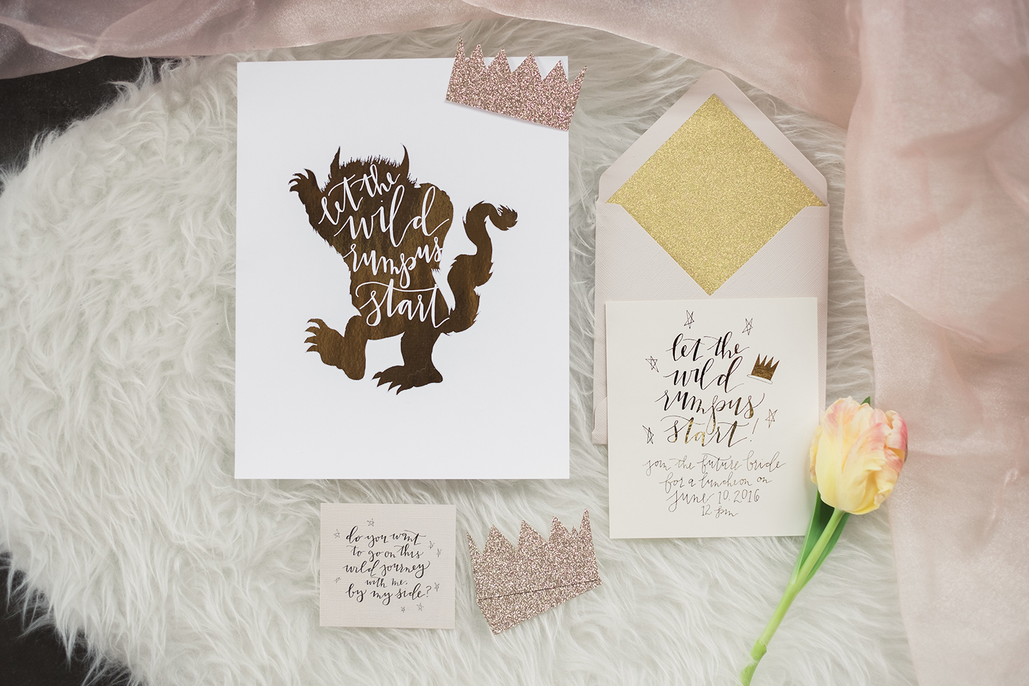 Where the Wild Things Are stationery