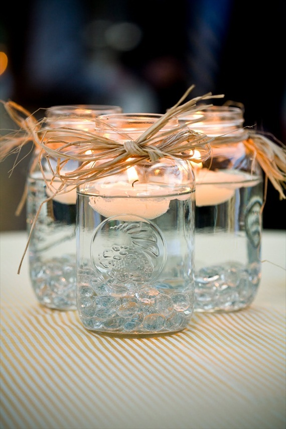 Easy DIY floating candles