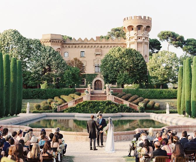 Barcelona wedding ceremony