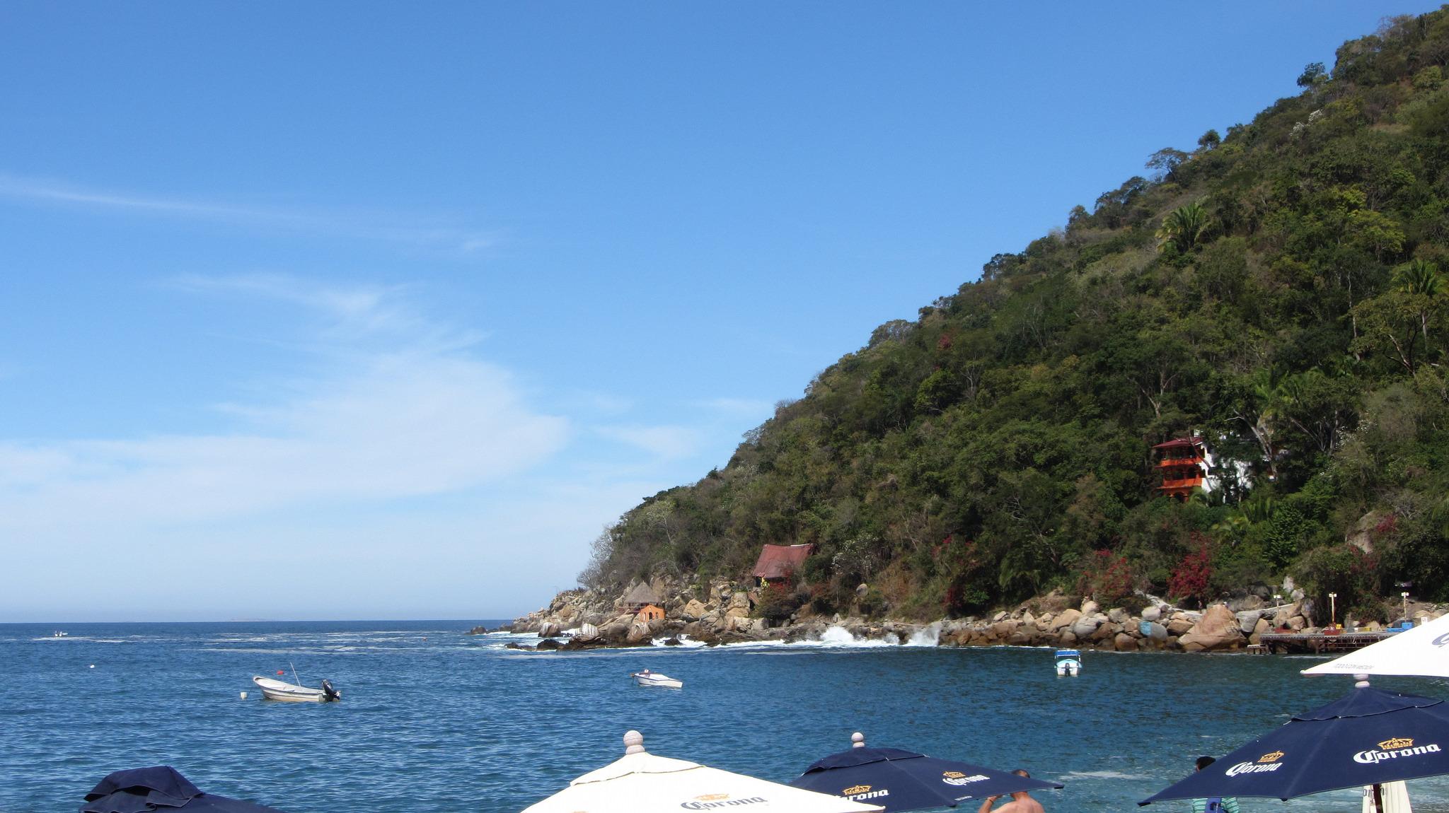 Yelapa bay in Mexico