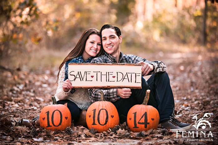 pumpkin save the dates