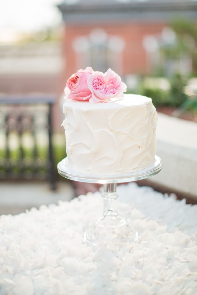 Shabby Chic Floral Topper