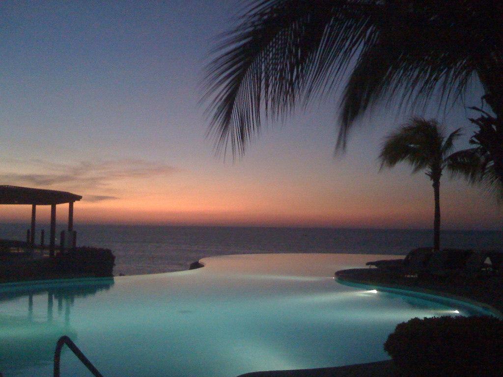 Punta Mita Resort at dusk