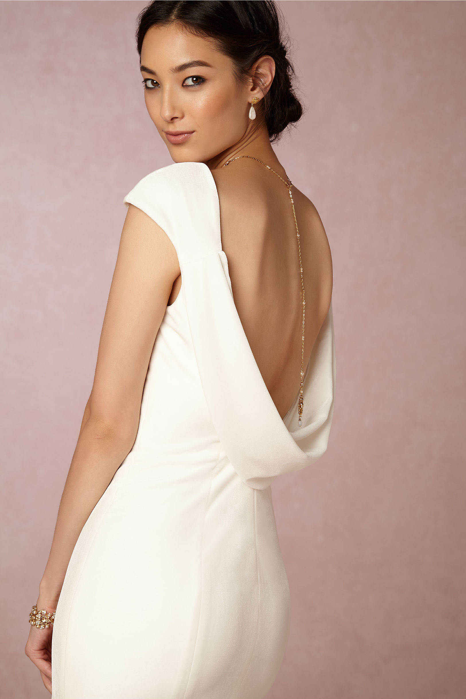 Backless Dress Accent