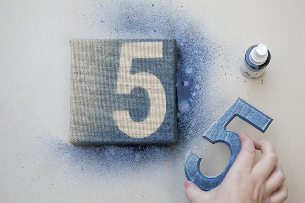 Easy DIY table numbers