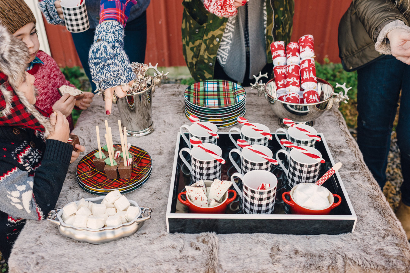 Hot Cocoa Bar