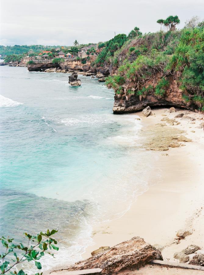 Bali tropical coastline