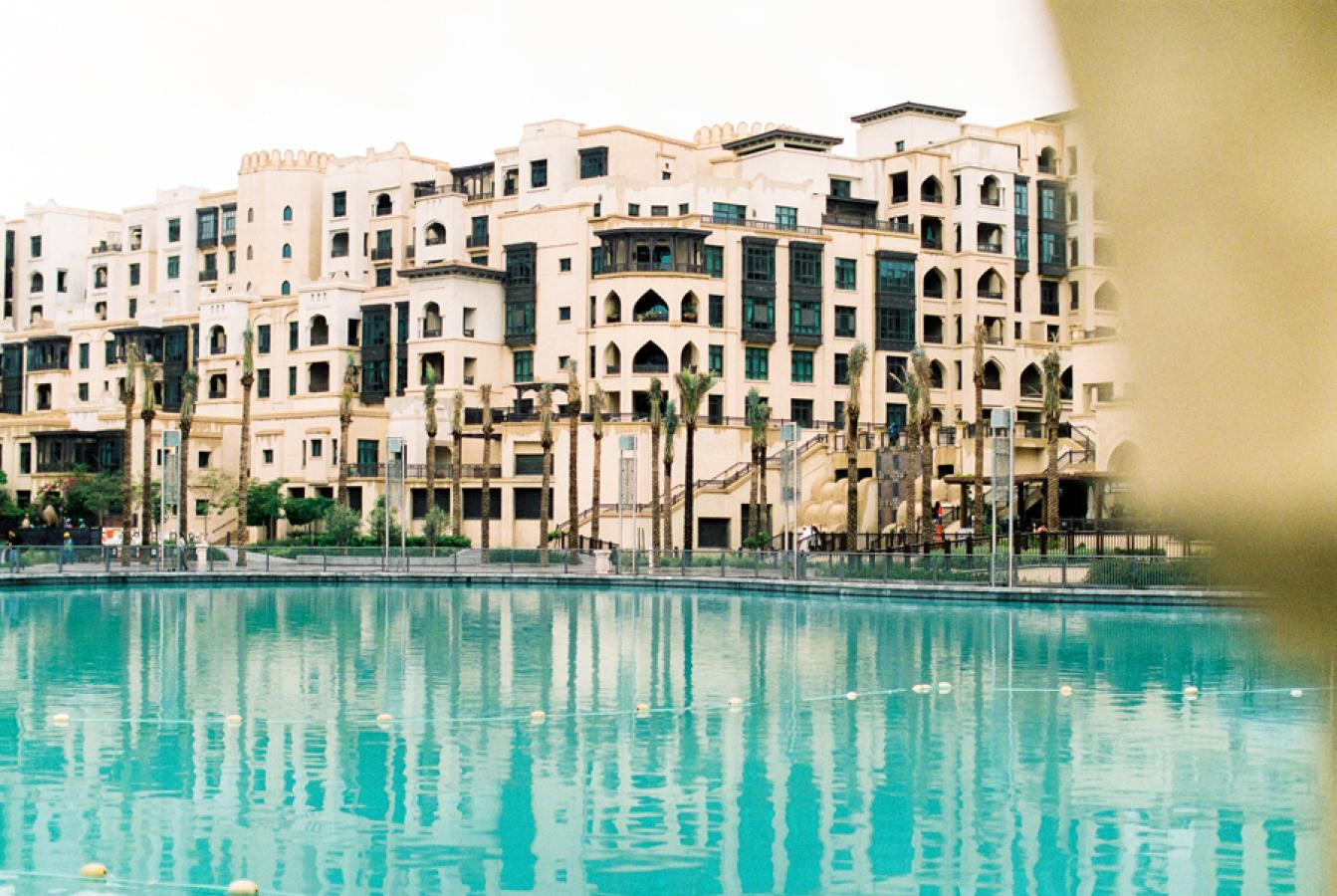Dubai resort and pool